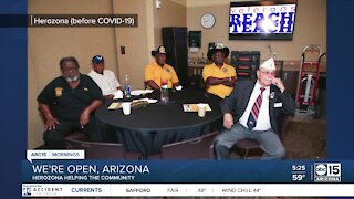 We're Open, Arizona: Herozona helps community
