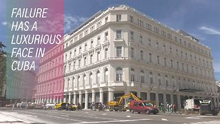 Hotel Havana: The luxury hotel losing its last guests - Video