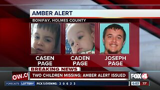 Amber Alert issued for two Florida panhandle children