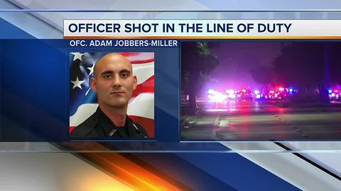 Fort Myers Police release the identity of wounded officer