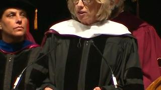 Students Boo Devos' Graduation Speech - Video