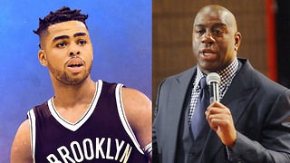 Magic Johnson DISSES D'Angelo Russell for No Damn Reason - Video
