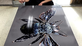 Varnish on Painting  - Video