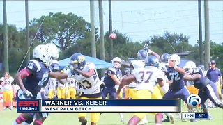 Warner University vs Keiser University