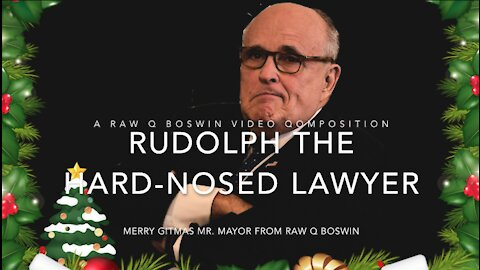 Rudolph, The Hard-Nosed Lawyer ~ A #MusicalMeme