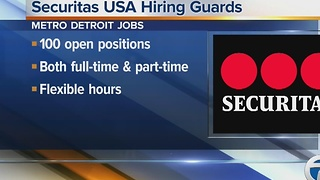 Workers Wanted: Securitas USA hiring guards - Video