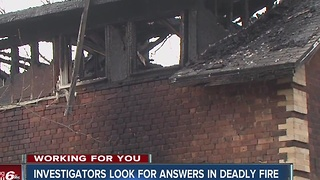 Investigators look for answers in deadly Brazil house fire - Video