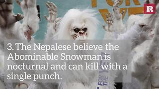 Beware Of The Abominable Snowman | Rare Life - Video