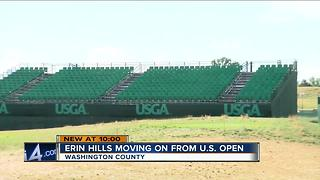 Officials restoring Erin Hills after U.S. Open - Video