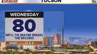 Chief Meteorologist Erin Christiansen's KGUN 9 Forecast Tuesday, December 13, 2016 - Video