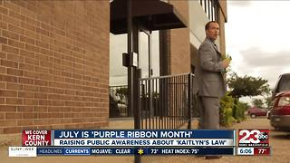 Purple Ribbon Month - Video