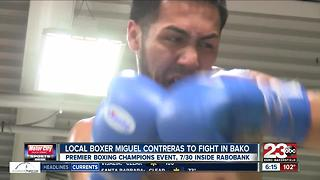 Miguel Contreras gets on Premier Boxing card at Rabobank Arena on July 30th - Video