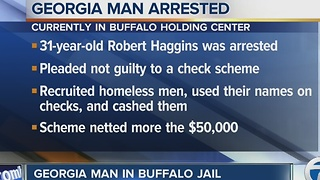GA man accused of local check cashing scheme - Video