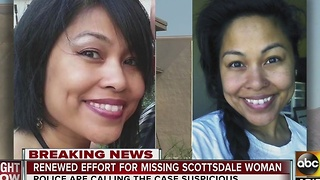 Renewed effort for missing Scottsdale woman - Video