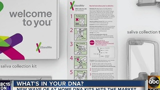 DNA testing kits flying off store shelves - Video