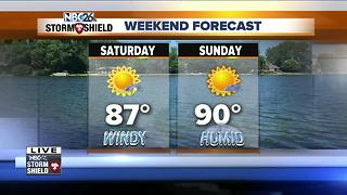Weekend Forecast with Cameron Moreland - Video
