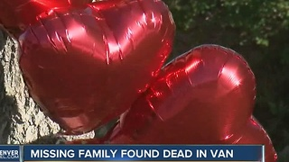 Missing Highlands Ranch family found dead in van - Video