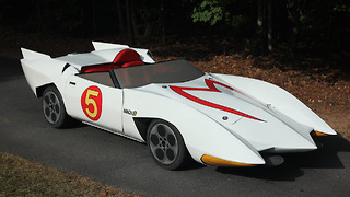 Cartoon Junkie Builds Mach 5 From Speed Racer: RIDICULOUS RIDES - Video