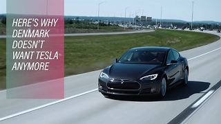 Economic crisis hurts Tesla's ambitions in Denmark - Video