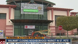 Walmart to close St. Petersburg Neighborhood Market - Video