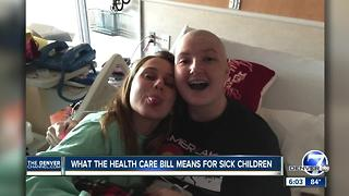 Healthcare debate is personal for Colorado teenager - Video