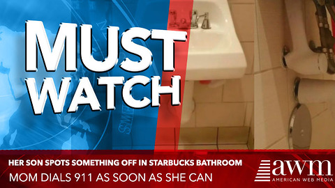 Her 5-Year-Old Spots Something Off In Starbucks Bathroom, Mom Dials 911 As Soon As She Can