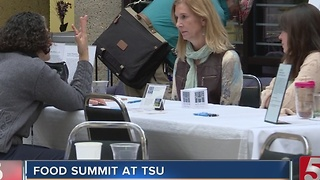 Local Food Summit Held At TSU - Video