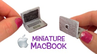 How to make a tiny Macbook Pro - Video