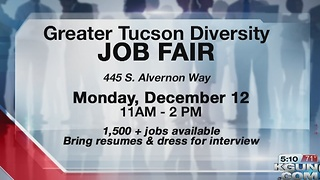 1500 plus jobs up for grabs at Monday job fair - Video