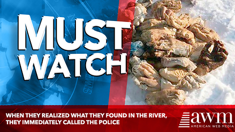 When They Realized What They Found In The River, They Immediately Called The Police