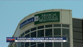 Local hospital on transplant probation - Video