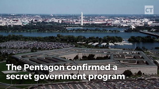 Gov't Admits to Secret UFO Program - Video