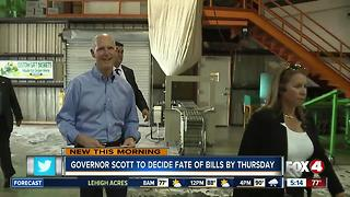 Decision time for Florida Gov. Scott on remaining bills