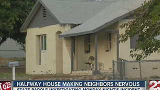 Halfway house making neighbors nervous