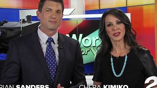 Chera Kimiko joins Karen Larsen, Brian Sanders and staff at KJRH 2 Works for You in Tulsa - Video