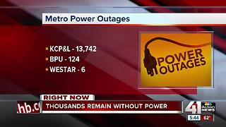 Thousands in KC are still without power