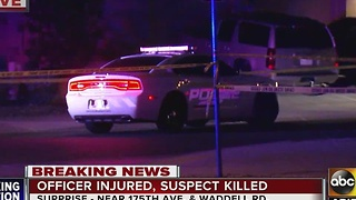 Surprise PD: Man shot and killed after altercation with officer early Saturday morning - Video