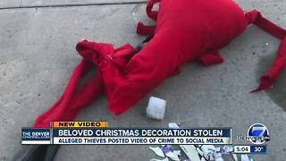 Castle Rock family searches for suspects that destroyed Jack Skellington decoration - Video