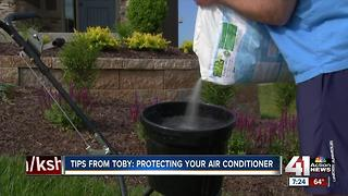 Tips from Toby: protecting your air conditioner - Video