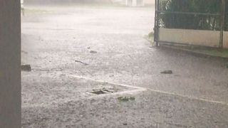 Tropical Storm Franklin Brings Torrential Rain to Playa del Carmen - Video