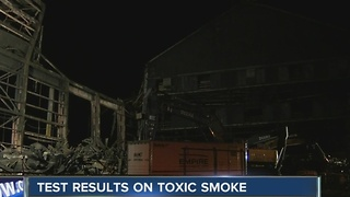 DEC, DOH release Lackawanna fire air quality test results - Video