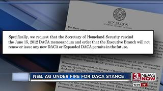 Nebraska and 9 other states issue call to end DACA - Video