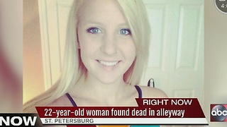 22-year-old woman found dead in St. Petersburg alleyway - Video