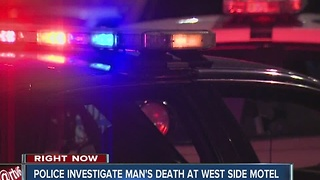 Man found dead in west side motel room - Video