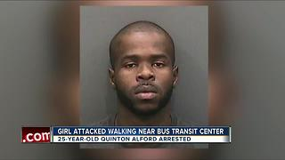 DNA helps arrest man accused of attacking woman walking near bus transit center - Video