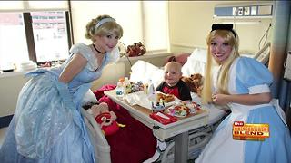 Helping hospitalized children with A Moment of Magic - Video