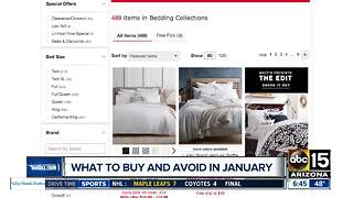 Here are the best buys and what you should avoid in January! - Video