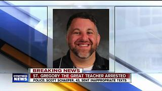 St. Gregory the Great Teacher Arrested - Video