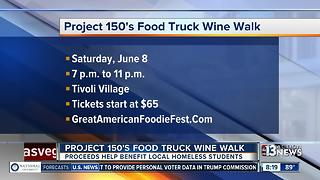 Project 150's Food Truck Wine Walk