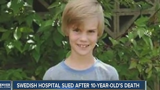 Family of boy who died after leaving hospital suing Swedish Medical Center - Video